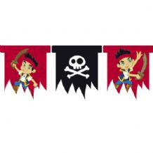 'Jake & the Neverlands Pirates' 3m Flag Banner 1PK